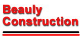 Beauly Construction Landscaping Logo
